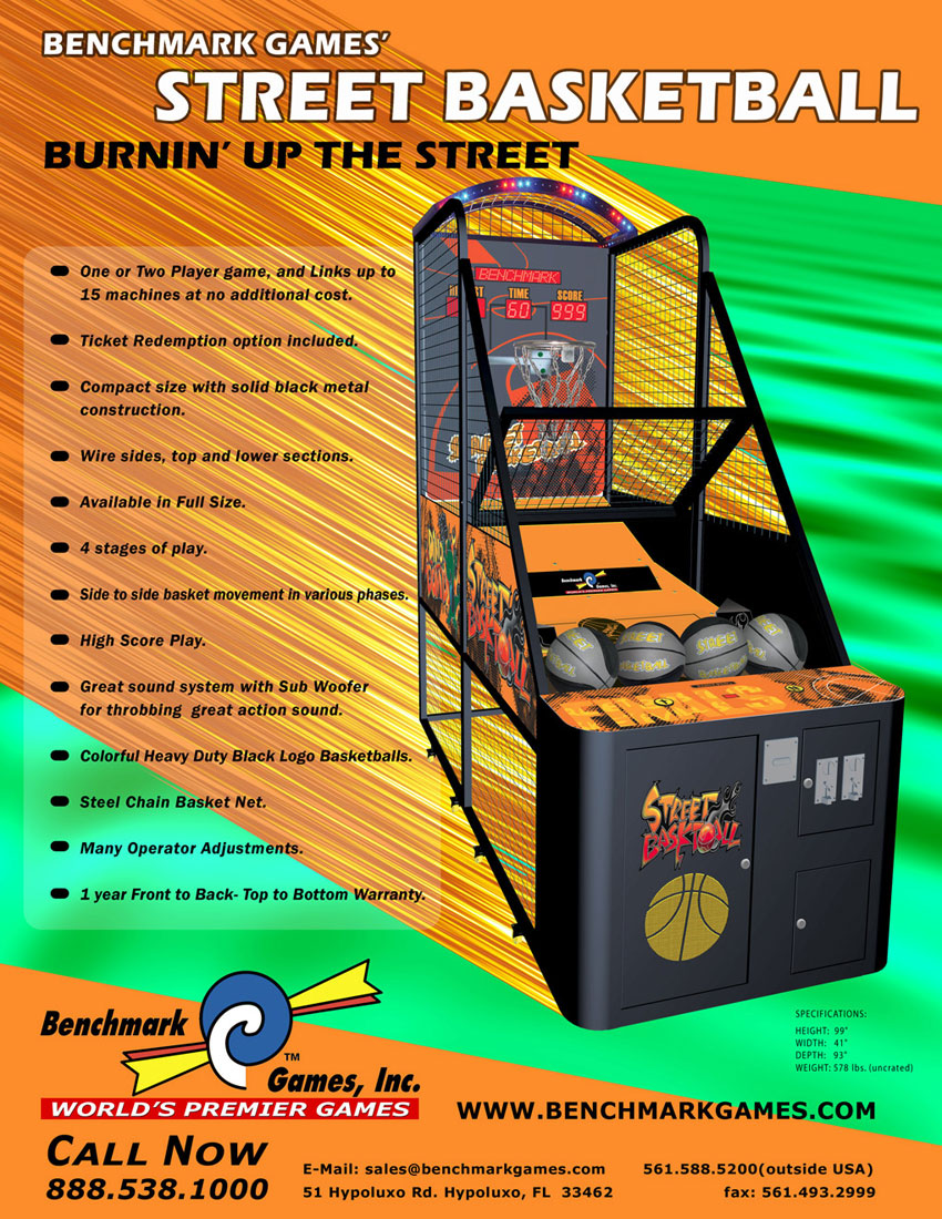 The Arcade Flyer Archive - Arcade Game Flyers: Street ...