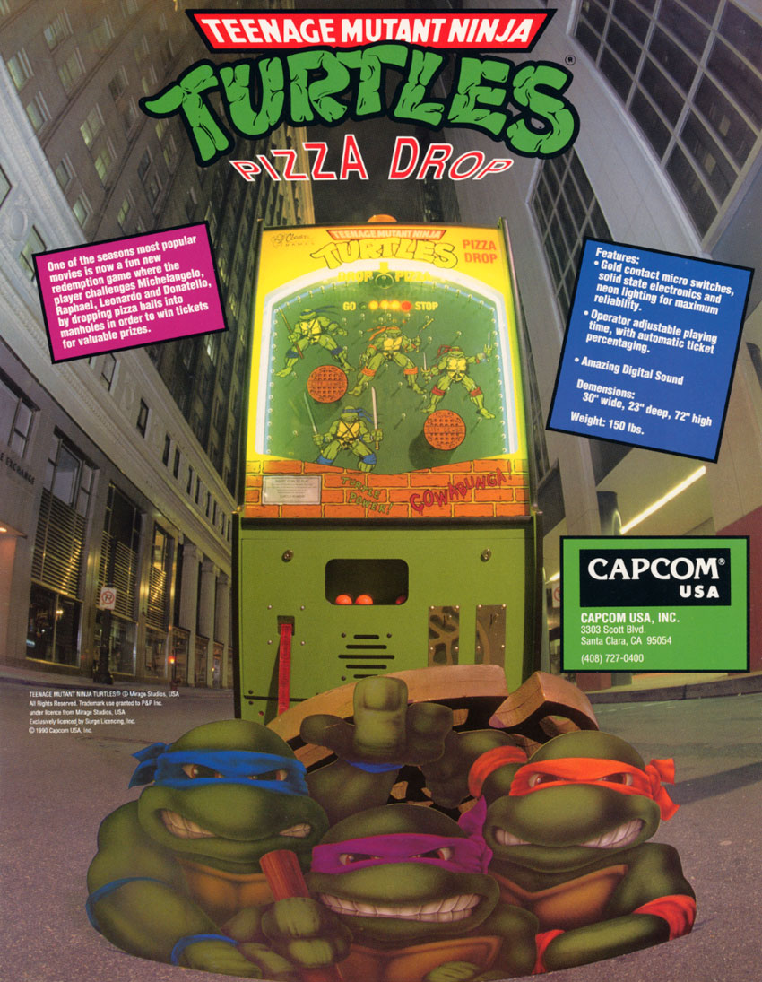 The Arcade Flyer Archive Arcade Game Flyers Teenage
