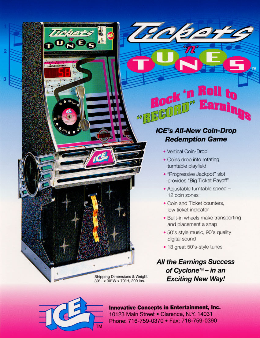 The Arcade Flyer Archive - Arcade Game Flyers: Tickets'N
