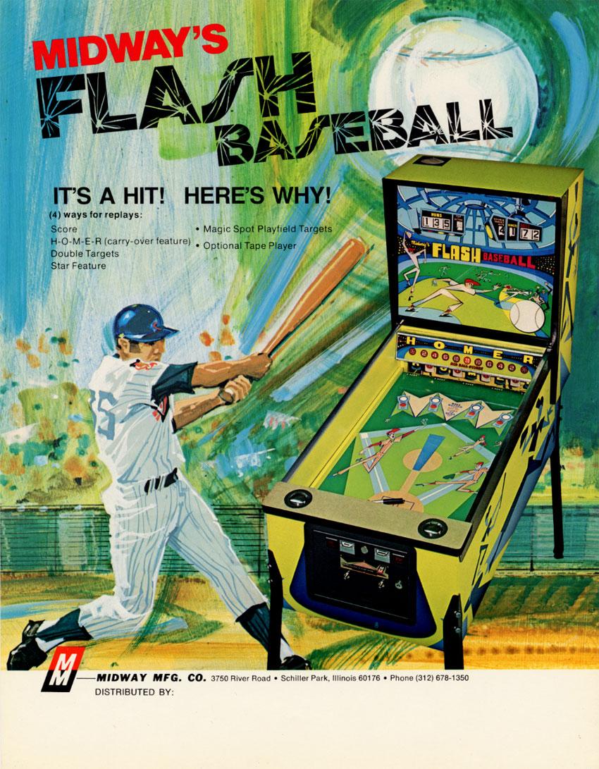 the arcade flyer archive arcade game flyers flash baseball