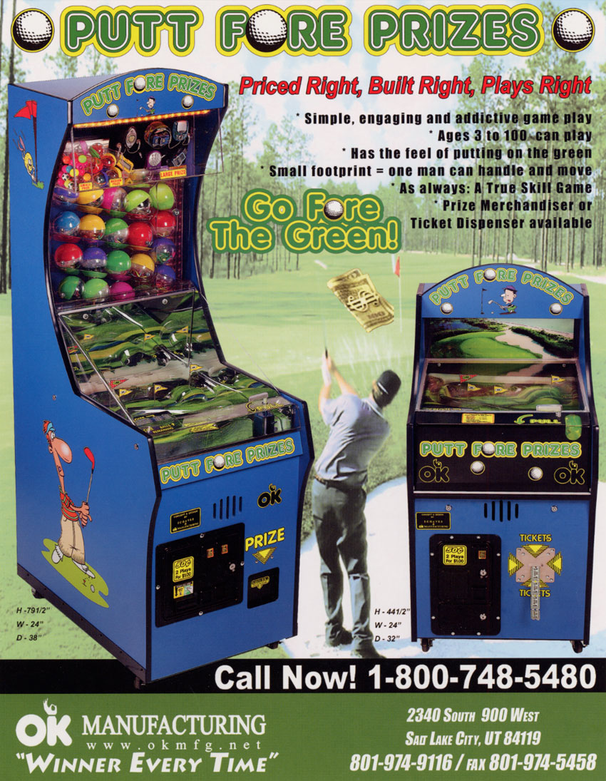 Arcade prizes game