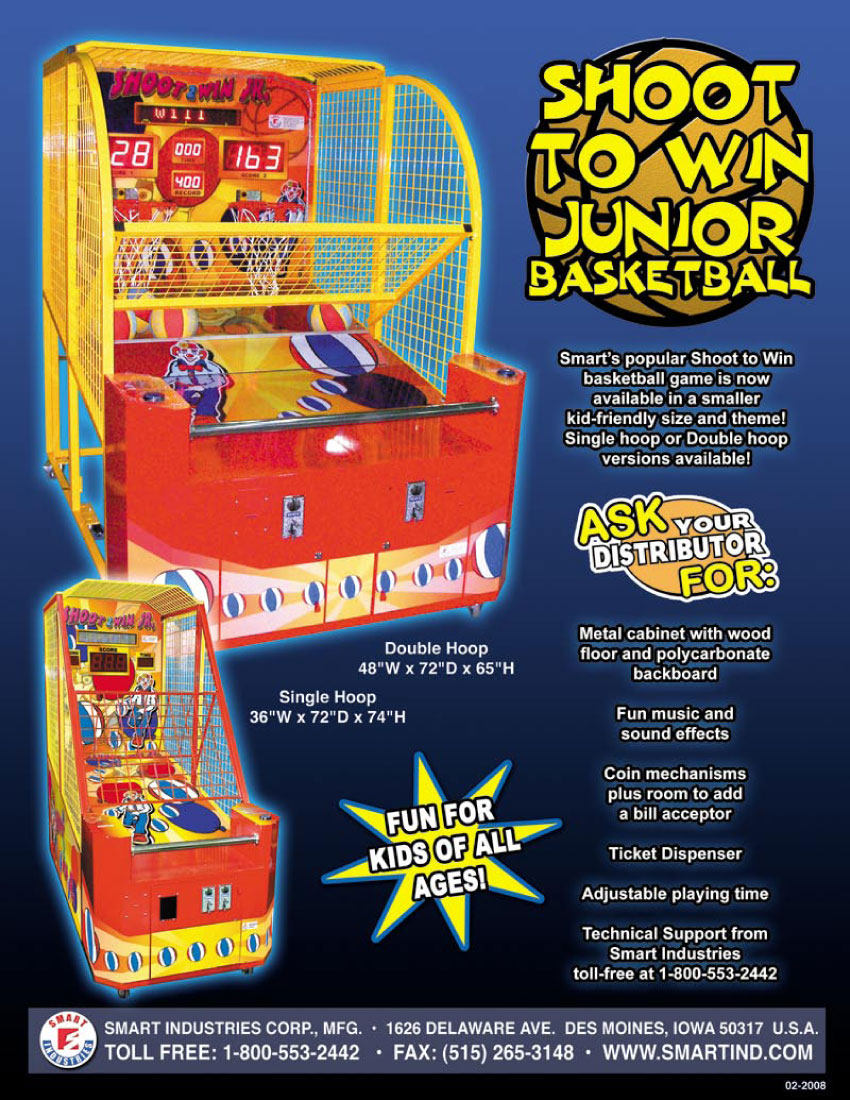 The Arcade Flyer Archive - Arcade Game Flyers: Shoot To ...