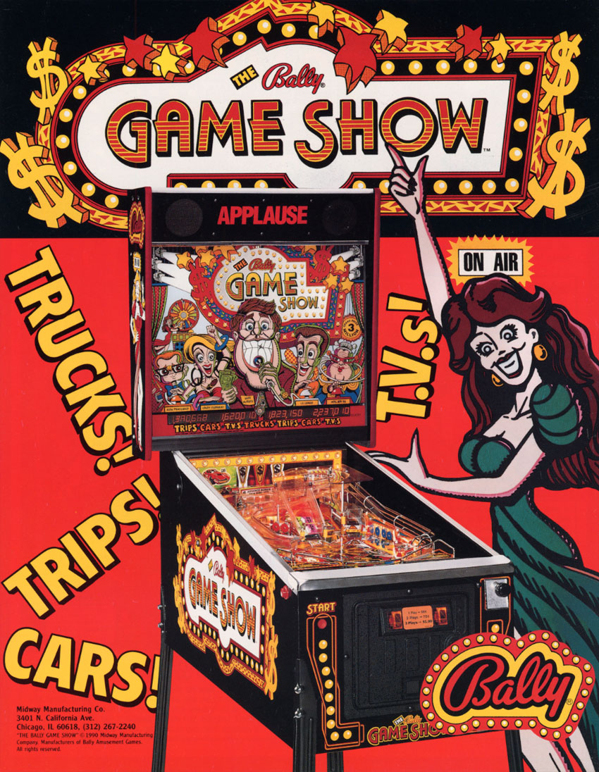 The Arcade Flyer Archive - Pinball Machine Flyers: Bally