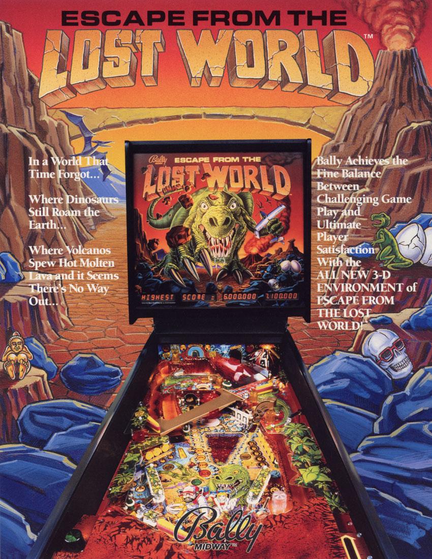 lost world pinball machine
