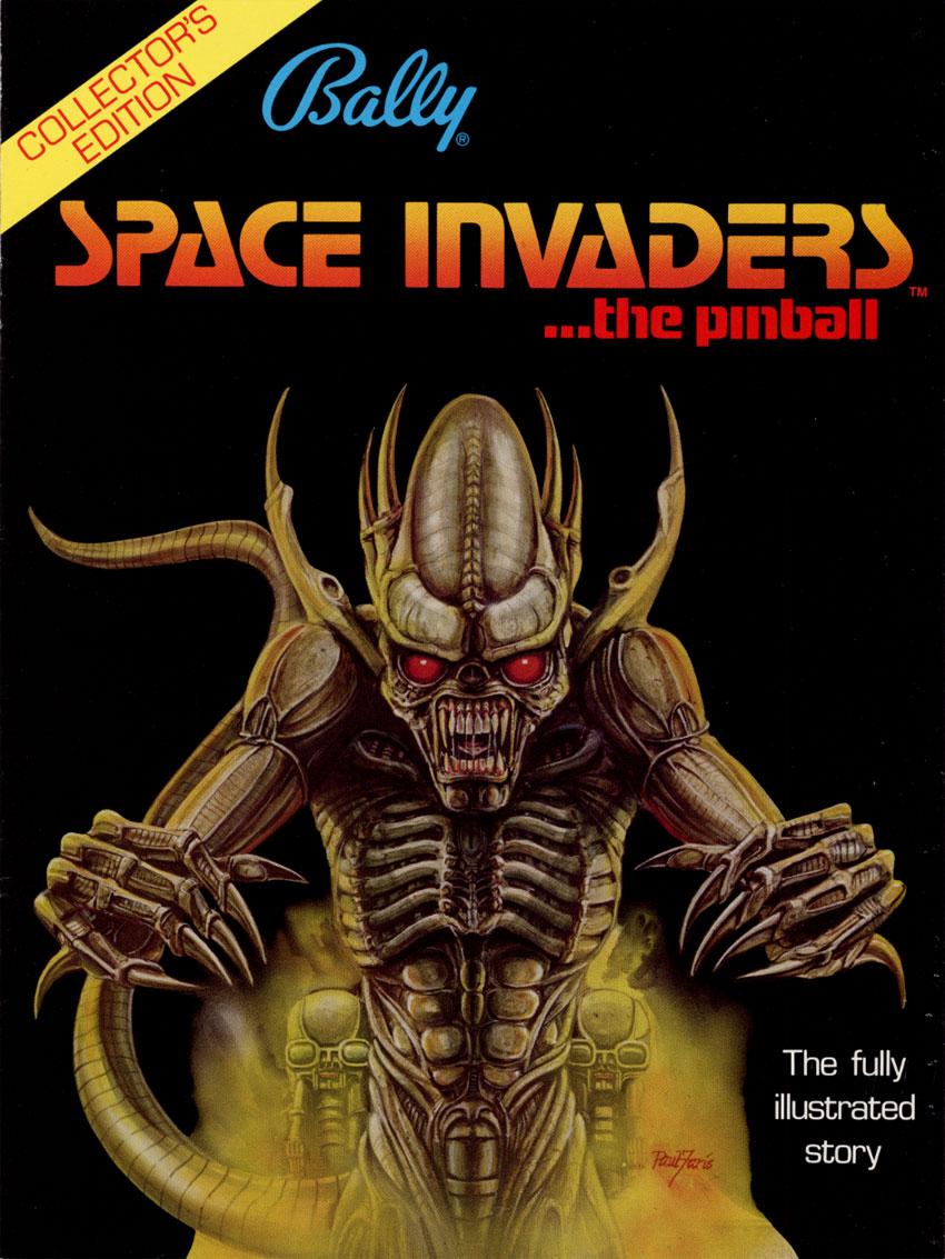 space invaders pinball machine