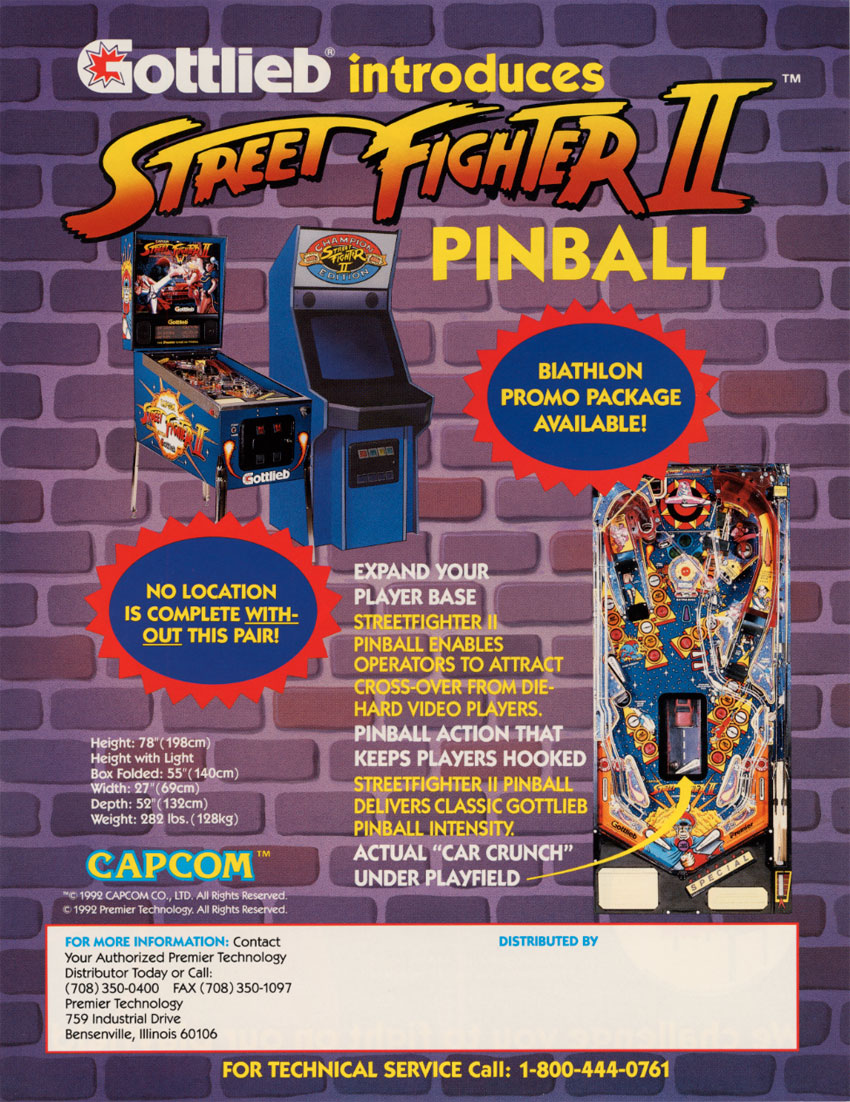The Arcade Flyer Archive Pinball Machine Flyers Street