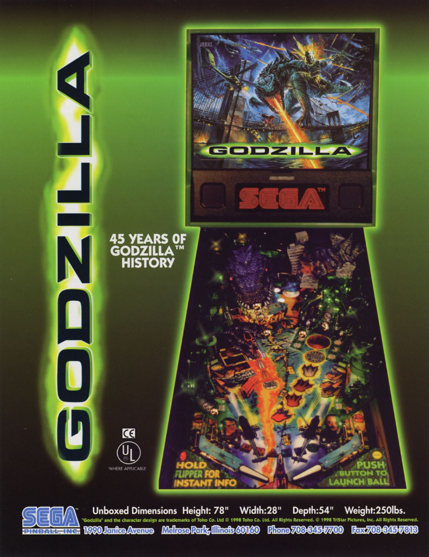 The Arcade Flyer Archive - Pinball Machine Flyers