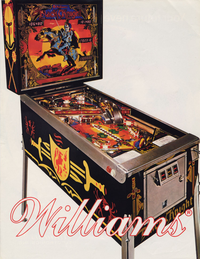 The Arcade Flyer Archive - Pinball Machine Flyers: Black Knight