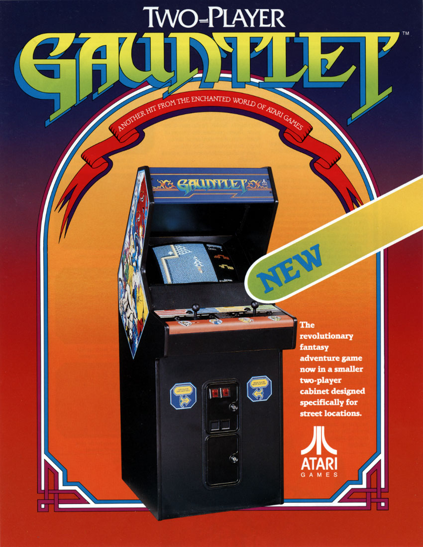 The Arcade Flyer Archive - Video Game Flyers: Gauntlet