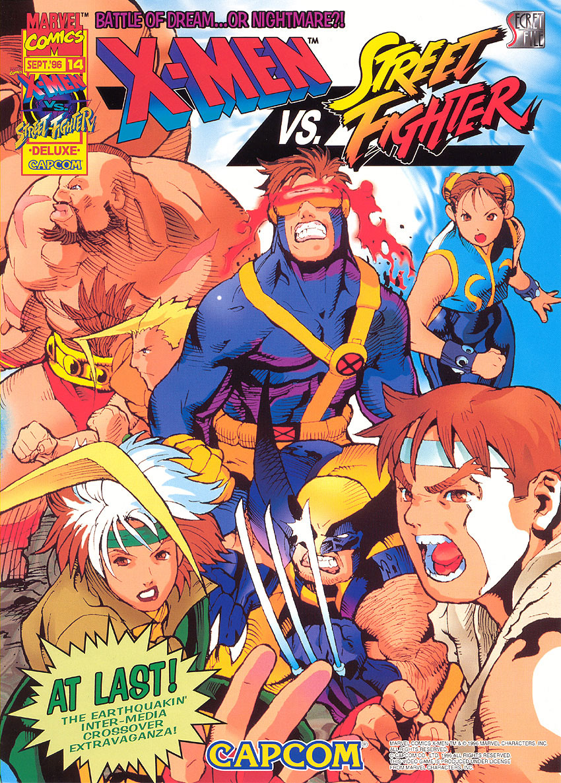 X-Men Vs Street Fighter Portable