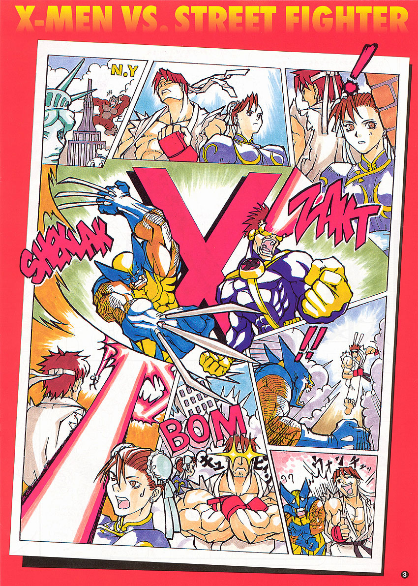 The Arcade Flyer Archive Video Game Flyers Sf 14 X Men Vs