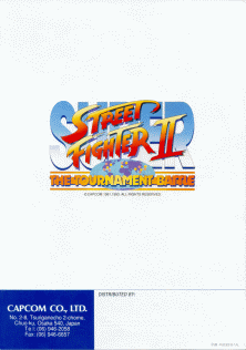 The Arcade Flyer Archive Video Game Flyers Super Street Fighter Ii The New Challengers Capcom