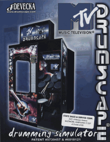 The Arcade Flyer Archive - Video Game Flyers: MTV Drumscape ...