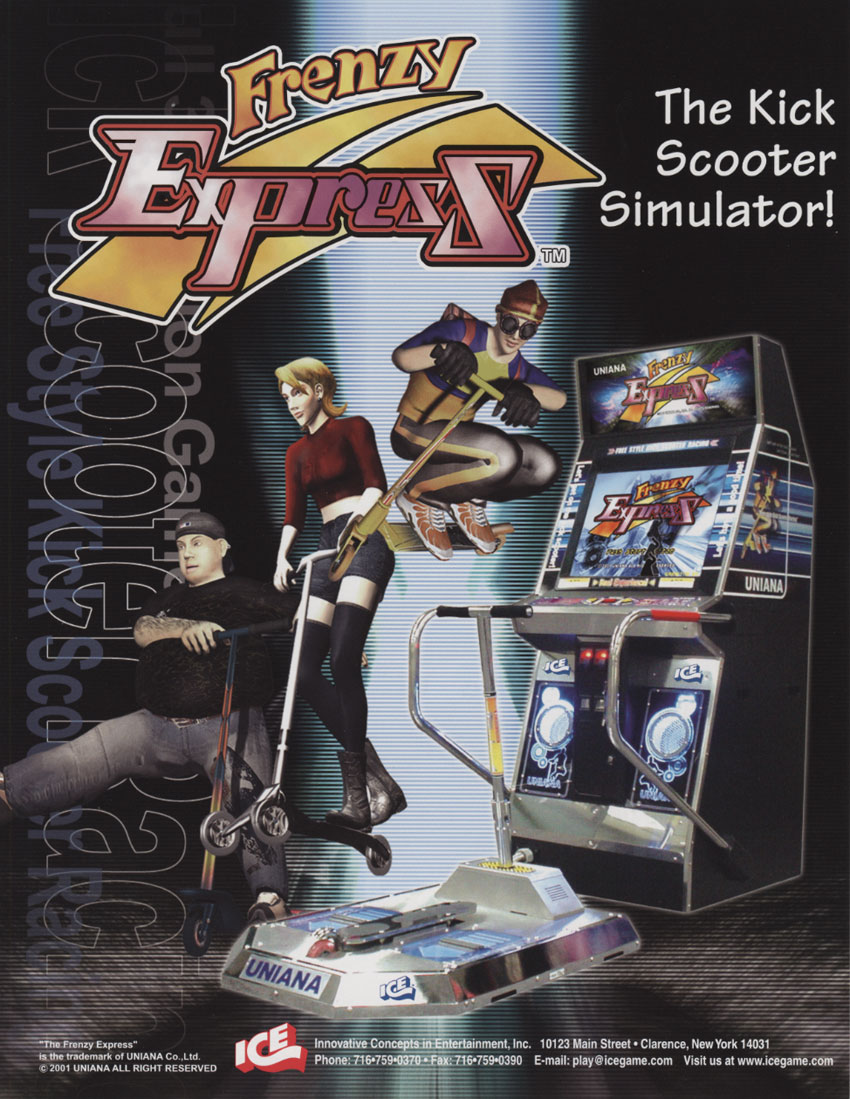 Image result for frenzy express arcade