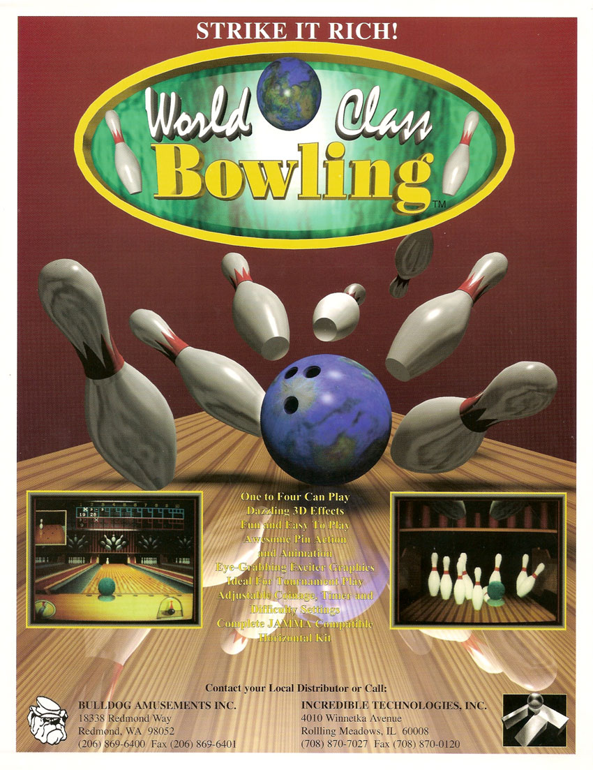 game of bowling