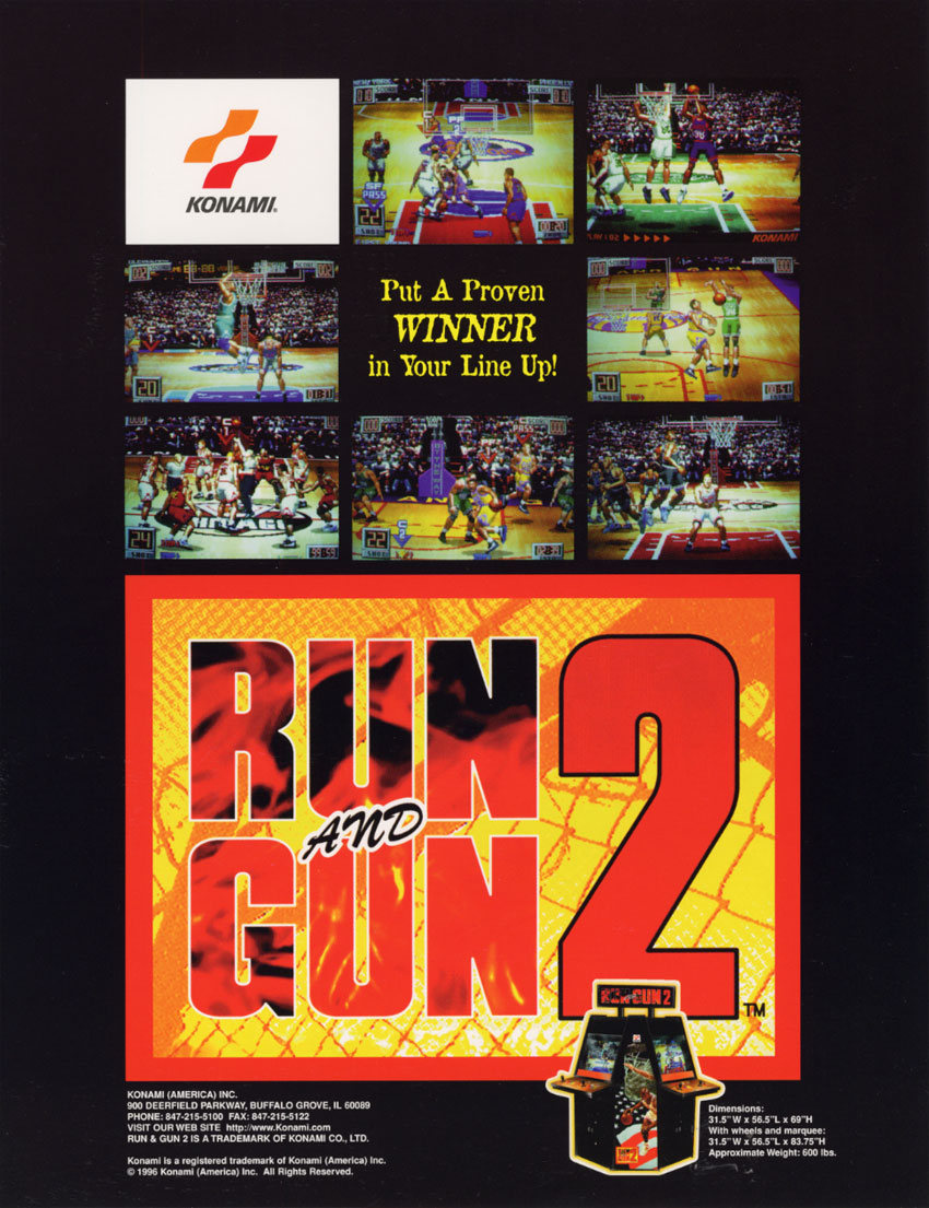 The arcade flyer archive video game flyers run and gun 2 konami run and gun 2 voltagebd Image collections