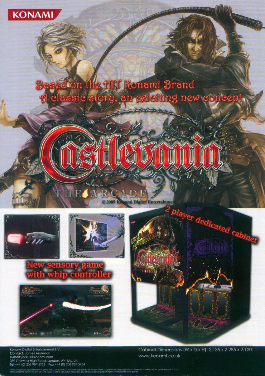 castlevania arcade machine