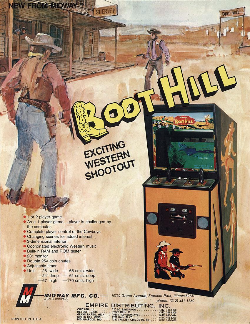 Boot Hill - Um legítimo videogame dos anos 70 do Velho Oeste 29166101
