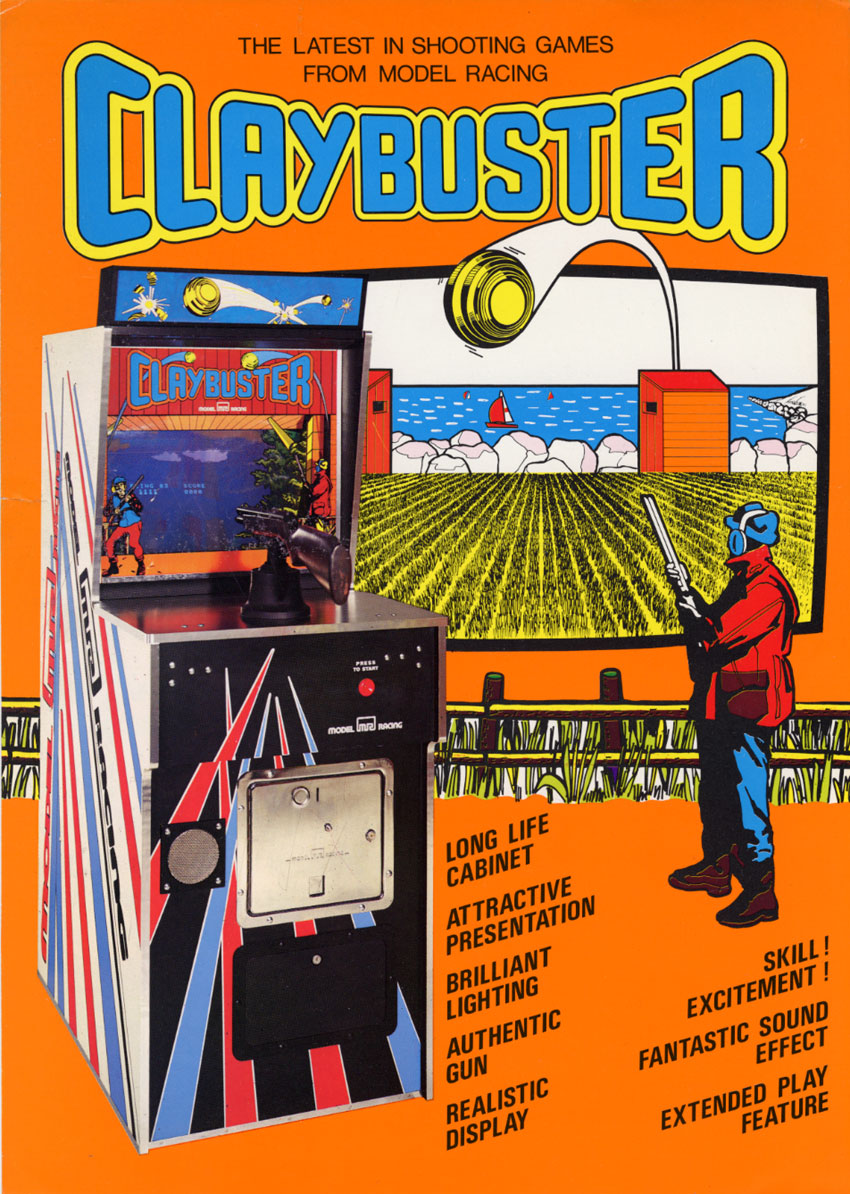The Arcade Flyer Archive - Video Game Flyers: Clay Buster