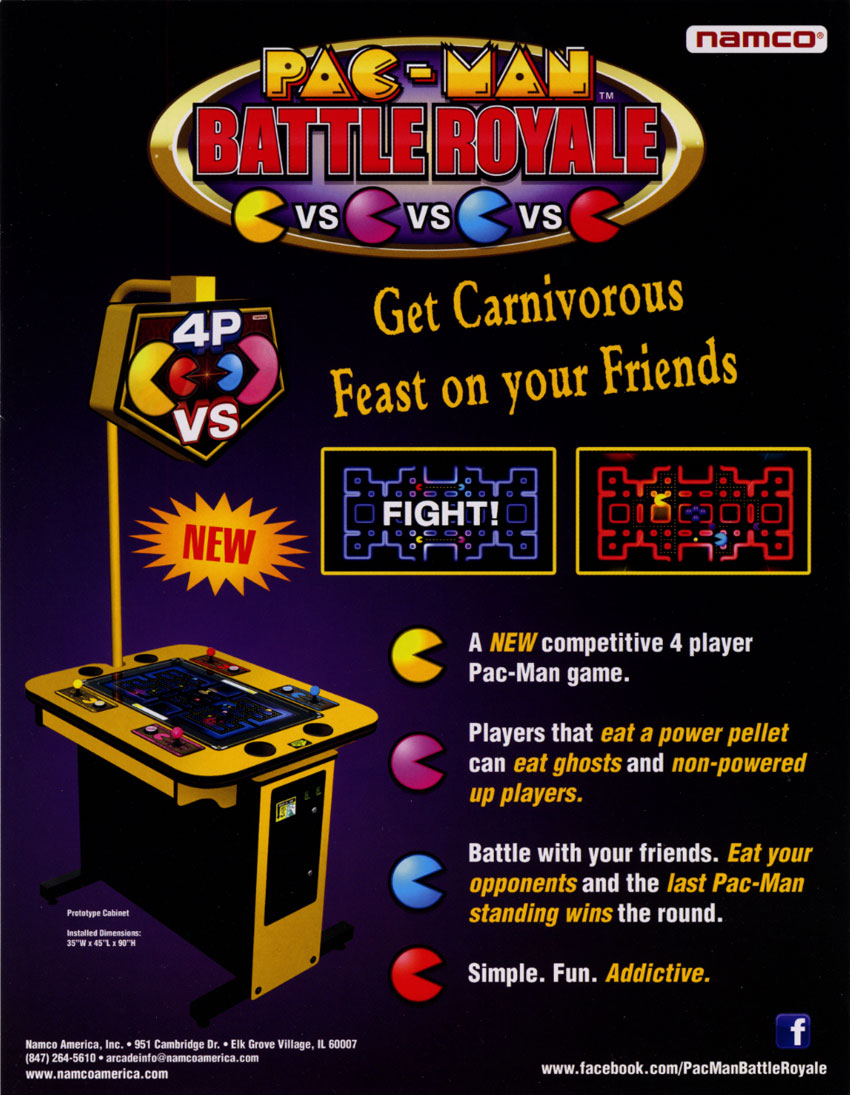 The Arcade Flyer Archive - Video Game Flyers: Pac-Man