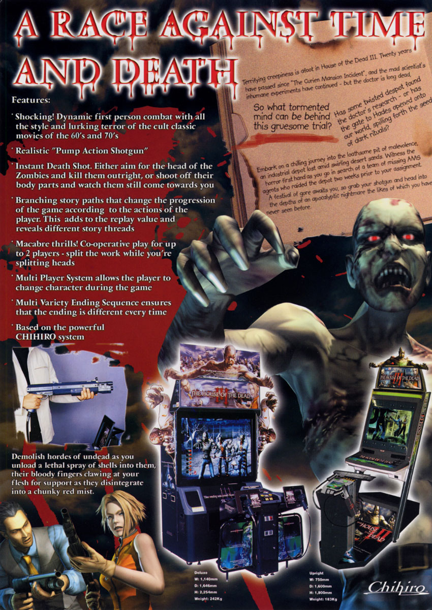 House Of The Dead Iii Mame Download