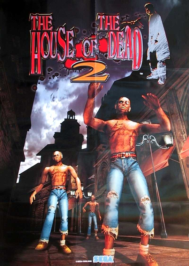 The Arcade Flyer Archive Video Game Flyers House Of The Dead 2