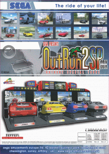 The Arcade Flyer Archive - Video Game Flyers: Out Run 2