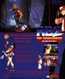 Real Bout Fatal Fury 2 - The Newcomers - Front