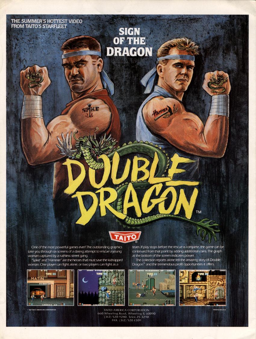 double dragon 1987