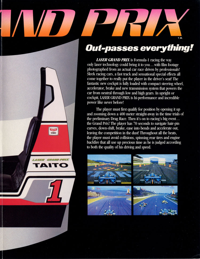 Us Grand Prix >> The Arcade Flyer Archive - Video Game Flyers: Laser Grand ...