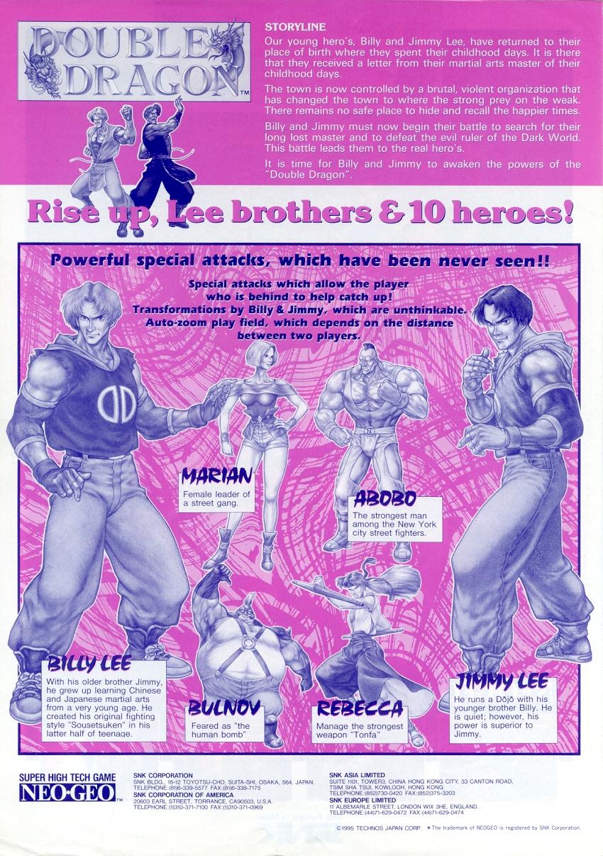 Tournoi Double Dragon sur Fightcade 67000402