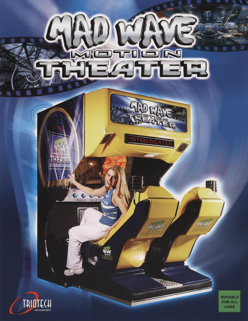 The Arcade Flyer Archive Video Game Flyers Mad Wave