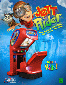 The Arcade Flyer Archive Video Game Flyers Jett Rider