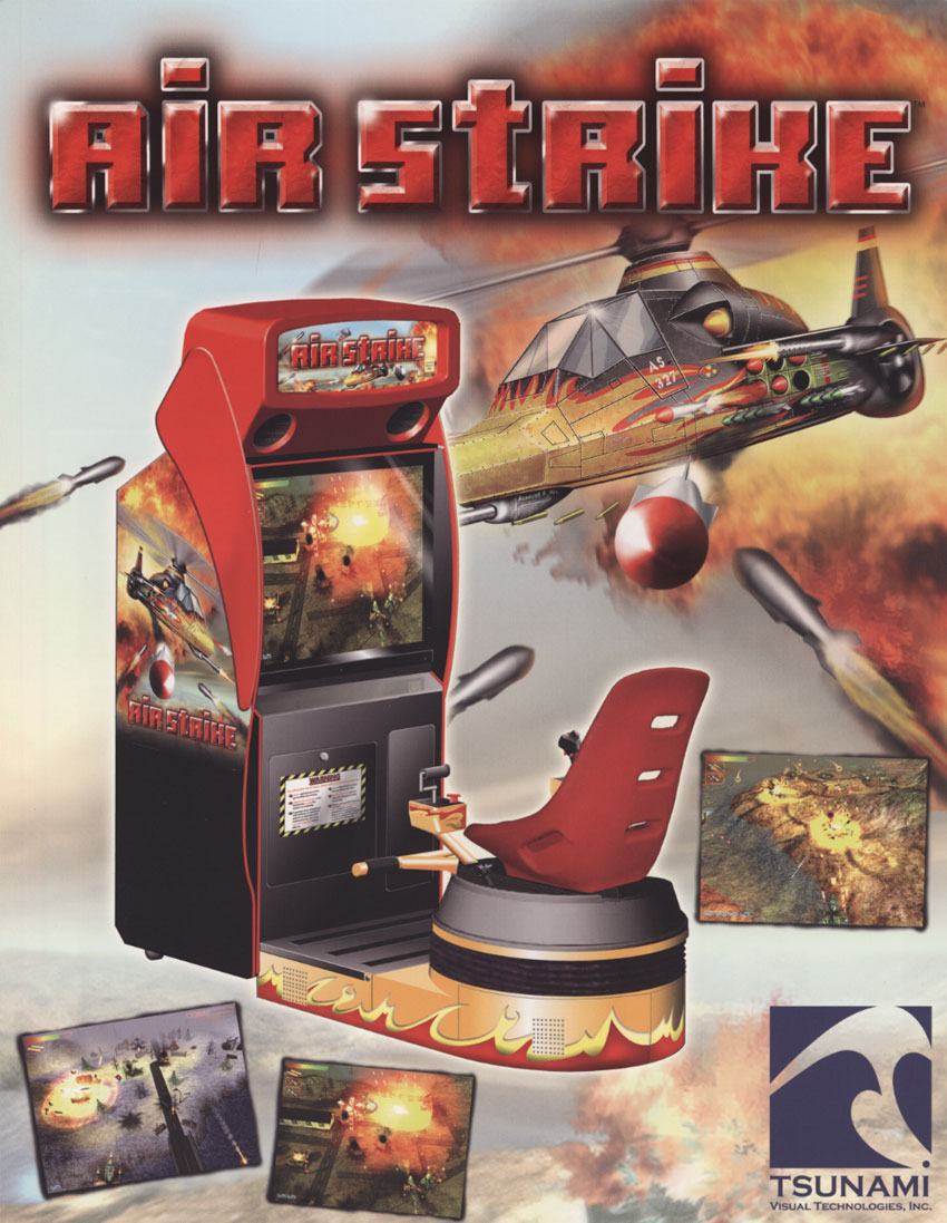 The Arcade Flyer Archive - Video Game Flyers: Air Strike